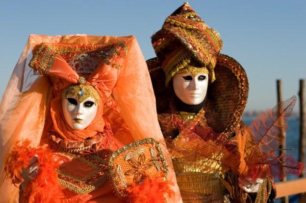 Costume au Caranaval de Venise